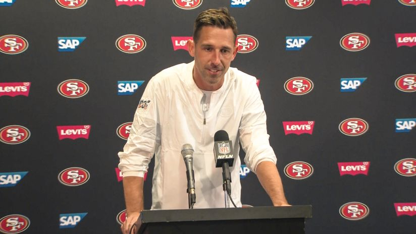 Kyle Shanahan Evaluates 49ers Hard-fought Week 1 Win in Tampa