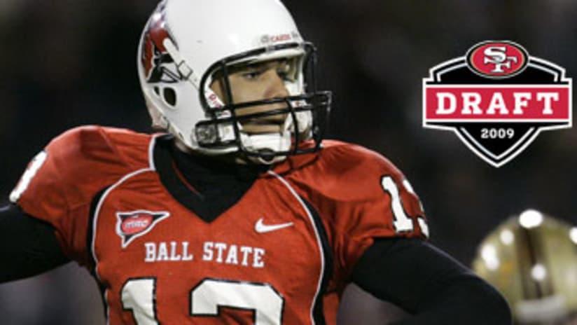 watch 27278 2d516 49ers Select QB Nate Davis