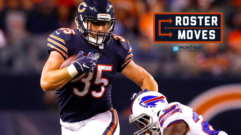 new arrivals 9ac89 3050e Roster moves: Bears sign 10 to practice squad