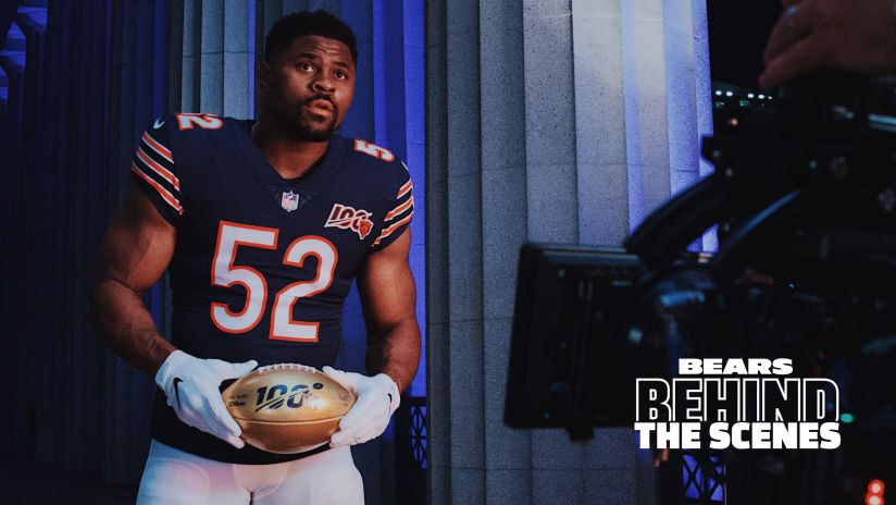 sale retailer 55af3 1436d Photos: Behind the Scenes | Chicago Bears Official Website