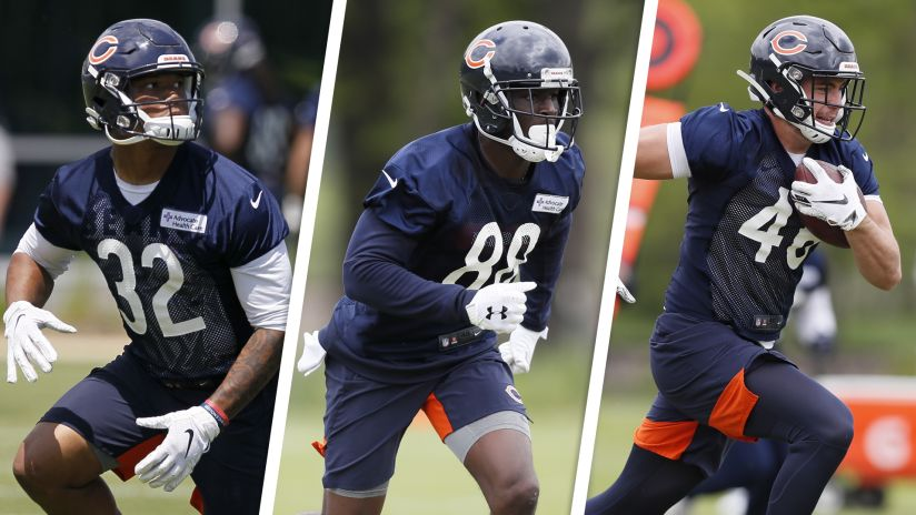 """d535fedc835 The Bears will launch their three-part documentary series """"Meet the  Rookies"""" Tuesday. '"""