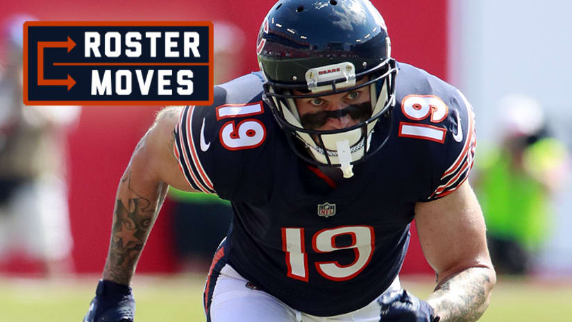 buy popular df8ff 3d7a0 Roster Moves: Bears add Gentry to roster, release Thompson