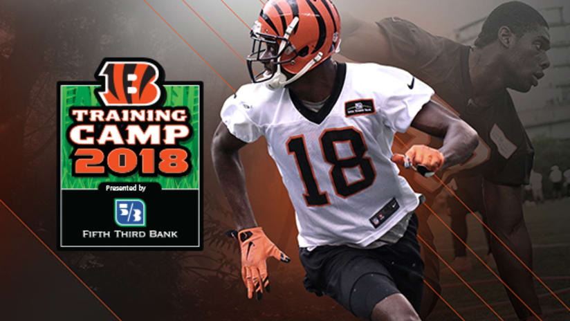 bengals 2018 training camp opens thursday july 26
