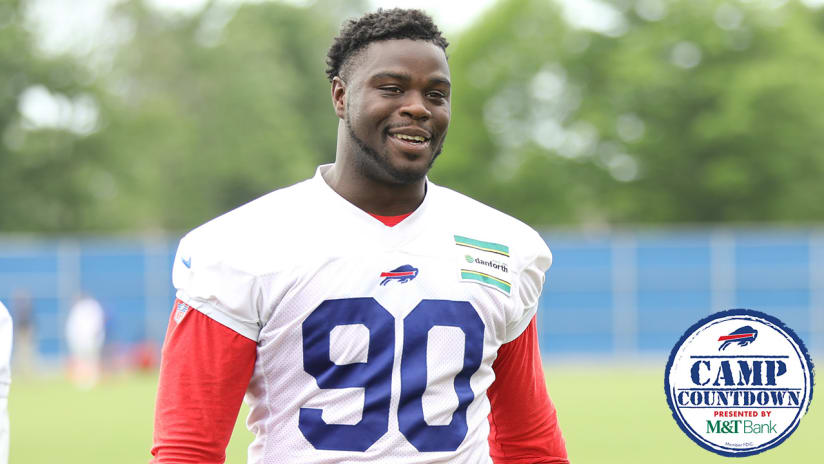 Camp Countdown: No. 13 - What should be expected from Shaq Lawson?