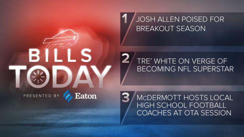 94f81d2c7731c Bills Today  Josh Allen poised for breakout season