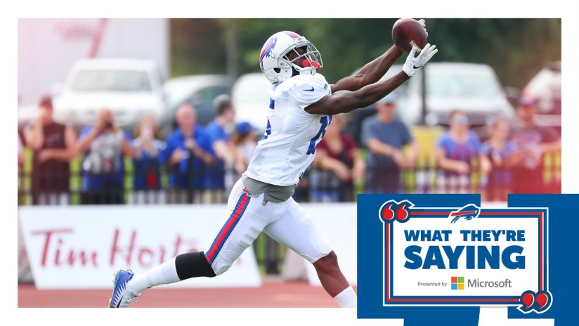 Buffalo Bills What They're Saying | Buffalo Bills - buffalobills com