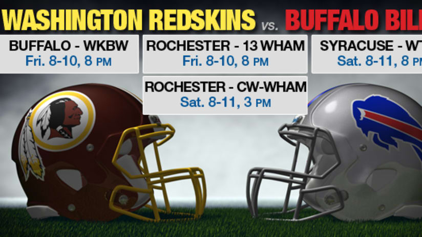 the latest 88efb 6311d Bills-Redskins to re-air in WNY