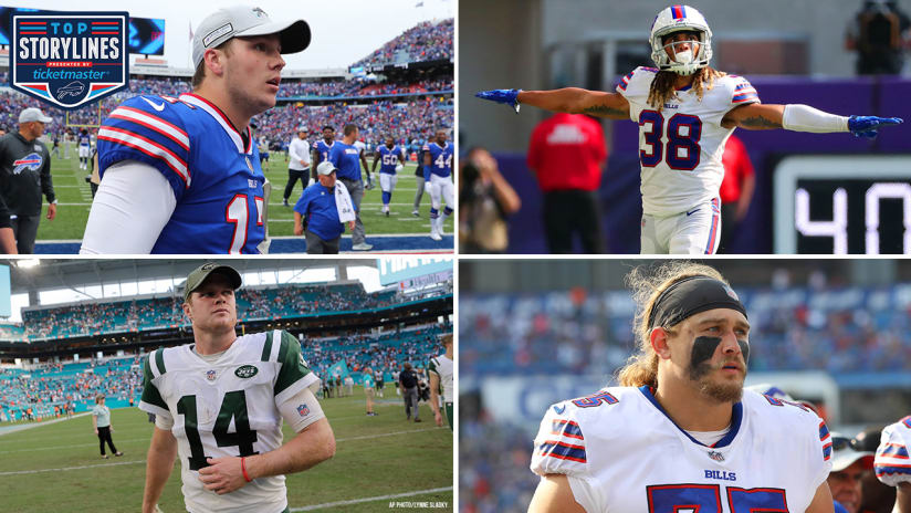 on sale dae42 5b9fb Top 7 storylines for the Bills-Jets in Week 10