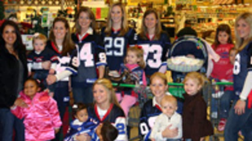 The Buffalo Bills Women s Association comprised of Bills player and staff  wives 15f71b9c9
