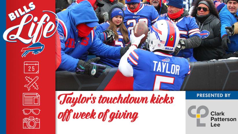 288c0bfafcc Bills Life  Taylor s TD kicks off week of giving