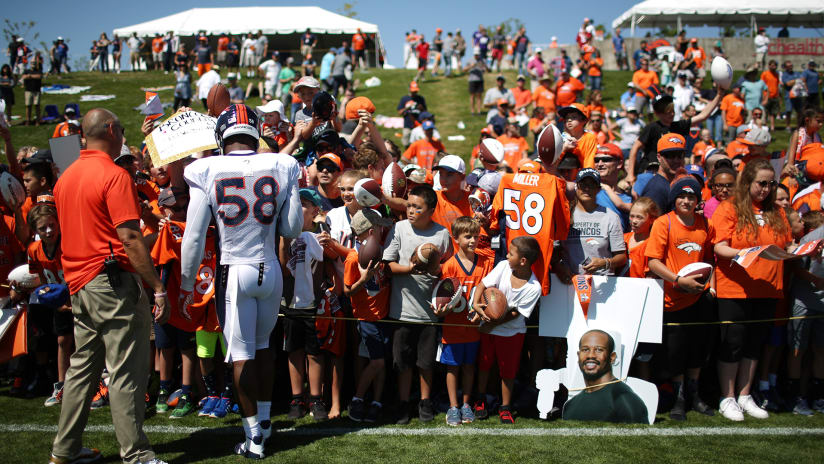 967a6387337 Broncos announce 2018 training camp schedule
