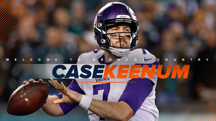 0a1c0b50c Broncos officially agree to terms with QB Case Keenum