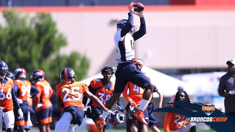 86ed411d Watch the best plays from the Broncos' second practice of training camp.