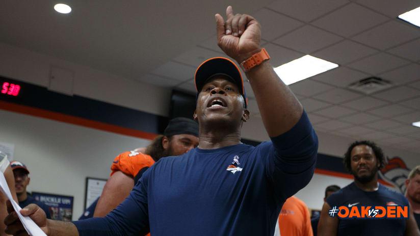 Victory Speech Broncos Vs Raiders