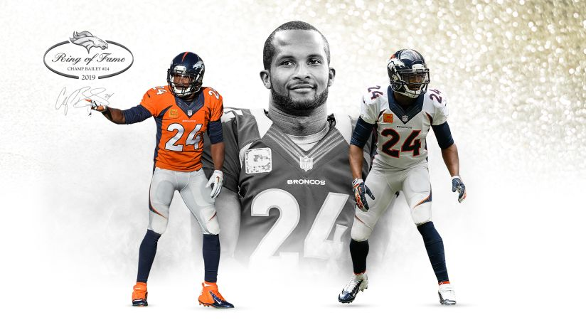Former CB Champ Bailey elected to Denver Broncos Ring of Fame