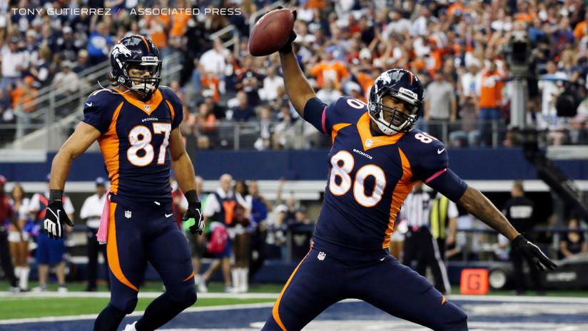 6aa176e2b26 Former Broncos Eric Decker, Julius Thomas announce retirement from NFL.  180826_decker_thomas