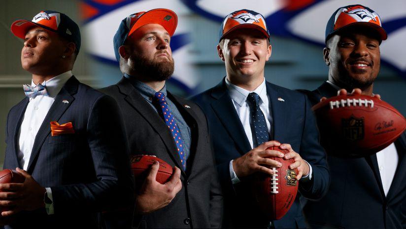 1658d85d The Broncos' 2019 rookie class profiles itself