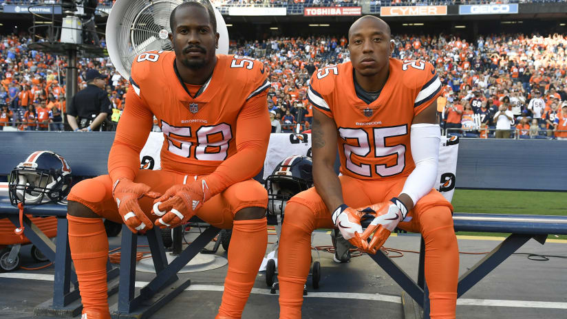 buy popular 77fb4 a904c Broncos to wear Color Rush jerseys in Week 12 home game vs ...