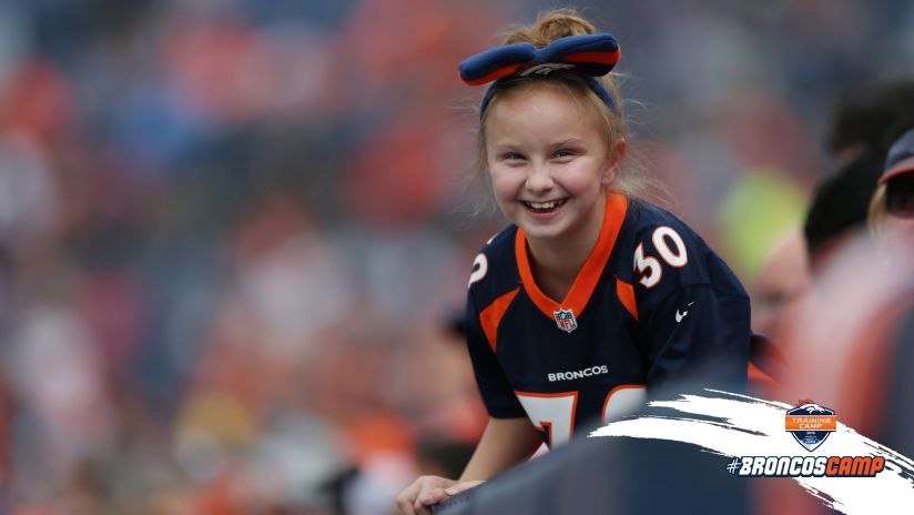 186c9c865 Broncos Country steals the show at Broncos Stadium at Mile High training  camp practice