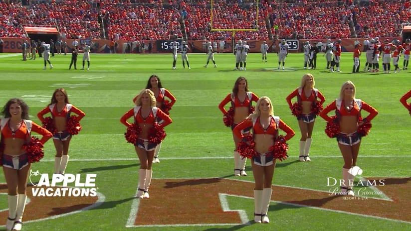 5bee6789a Denver Broncos Cheerleaders perform during Week 2