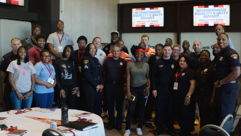 Browns host students to discuss social justice and neighborhood equality 99f74eee9