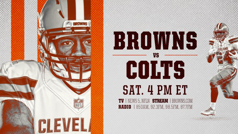 Browns at Colts: How to watch, listen, stream, announcers