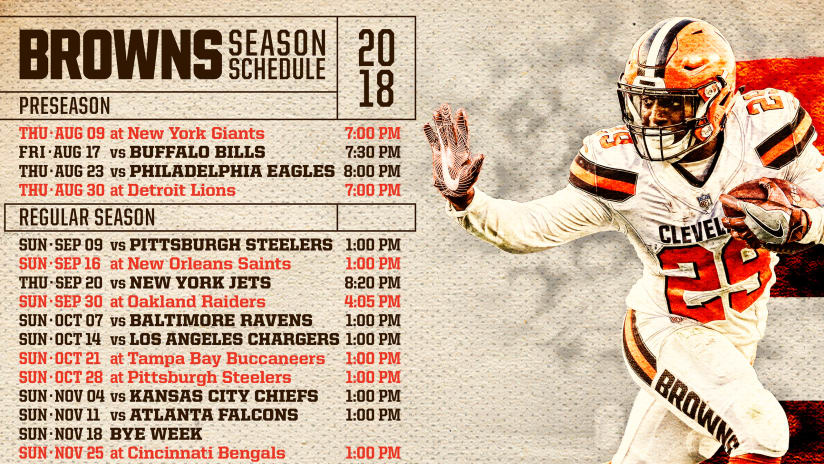 cleveland browns team shop schedule
