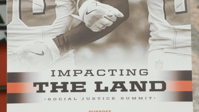 Browns host Social Justice Summit attended by Jim Brown 32f2f3781