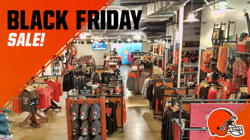 quality design c4a67 4136c Cleveland Browns Team Shop Black Friday Sale