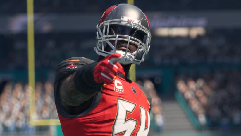 LB Lavonte David Tops Bucs' Madden Ratings with 95