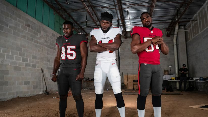 Tampa Bay Buccaneers New Uniforms 2020