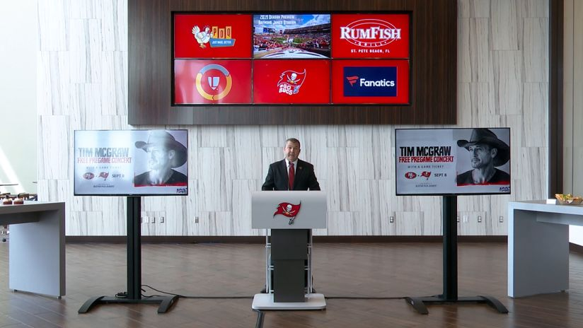 What's New at Raymond James Stadium in 2019 Press Conference