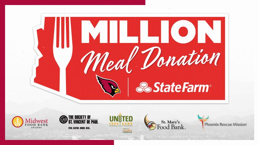Cardinals State Farm Providing One Million Meals To Local Food Banks