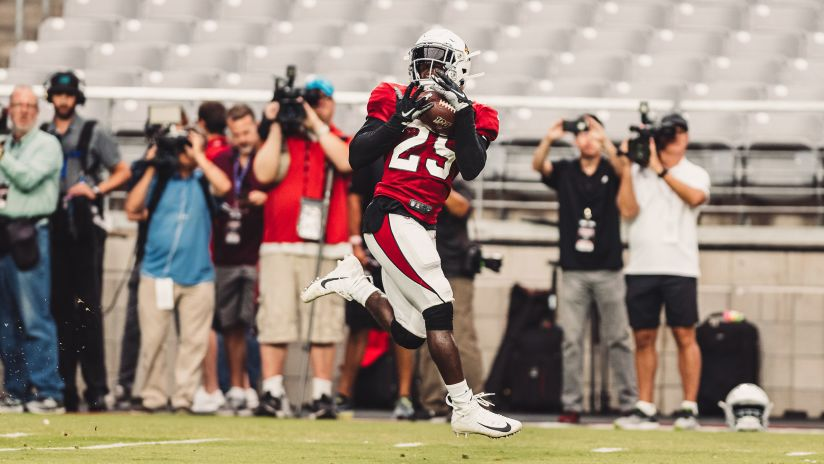 Like David Johnson, RB Chase Edmonds Hoping To Be Receiving Threat