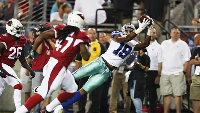 9f71b6a0ab2 The Cardinals signed former Cowboys receiver Brice Butler (19), here making  a catch against the Cards in the Hall of Fame game last August.