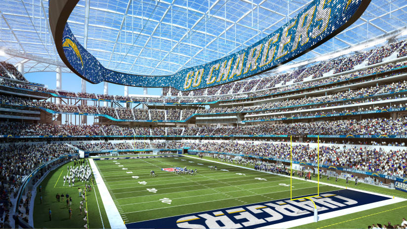 8a67daf6 Los Angeles Chargers Announce Prices for General Seating at New L.A. ...