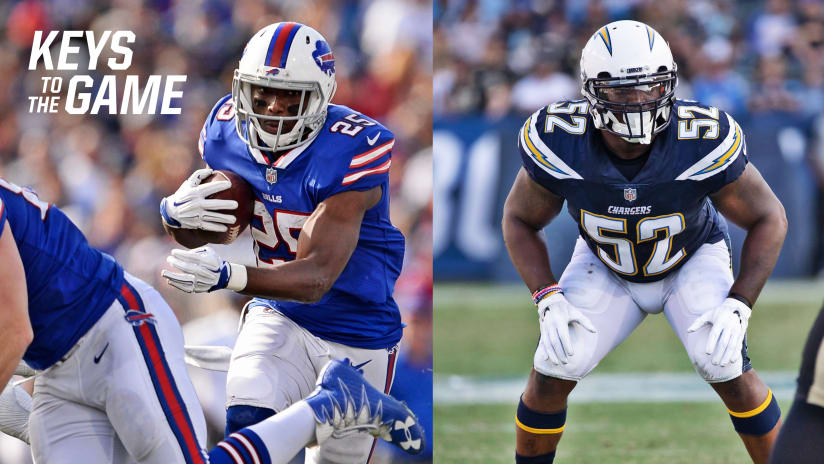 Keys to the Game  Chargers vs. Bills b4e0d81a0