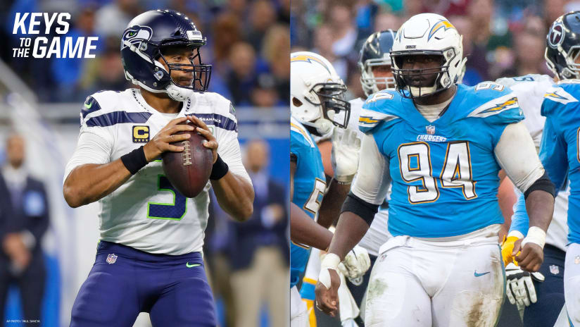 Here are five keys to the game heading into the Week 9 match between the  Los Angeles Chargers and Seattle Seahawks. 648ca970e