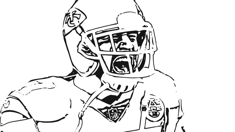 NFL Team Logos Coloring Pages - GetColoringPages.com | 464x824