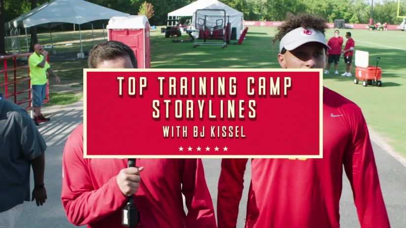 7cf4b0058b5 Chiefs Reporter BJ Kissel caught up with Patrick Mahomes to discuss the  work the team got