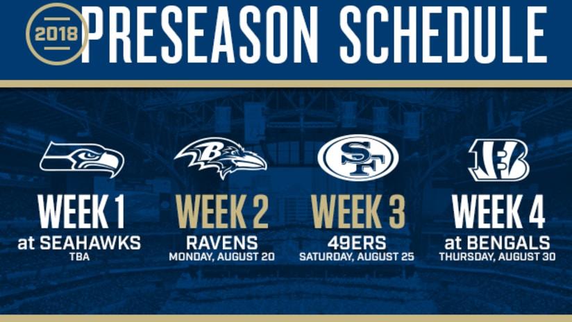 Colts Announce 2018 Preseason Schedule 3107bd36d