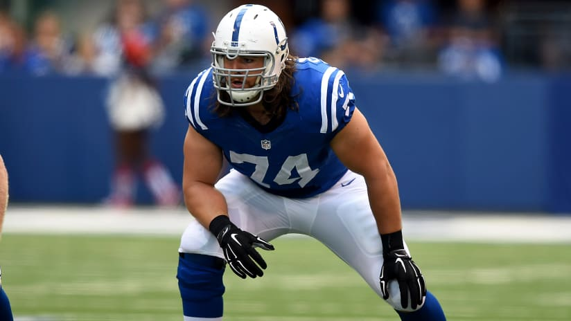 102515 castonzo-stance. INDIANAPOLIS — Indianapolis Colts left tackle  Anthony Castonzo was ... ad14e4c67