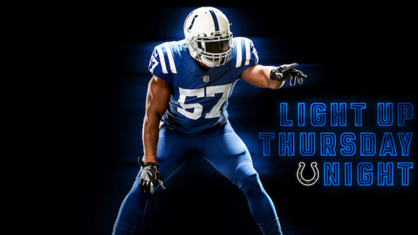 Colts To Sport Blue-On-Blue Look For First Time Ever On Thursday 0e00d19c1