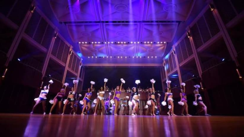 Colts Introduce 2018 Cheerleaders At Audition Showcase