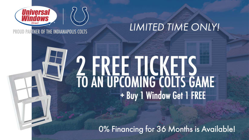 Colts game day giveaways