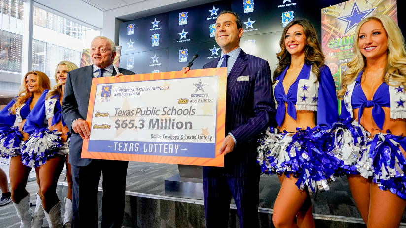 Cowboys, Texas Lottery Launch New Scratch Ticket