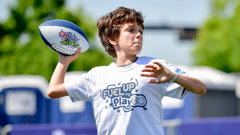 4fbd8113 Dallas Cowboys Youth Academies · Fuel Up To Play 60 & PLAY 60