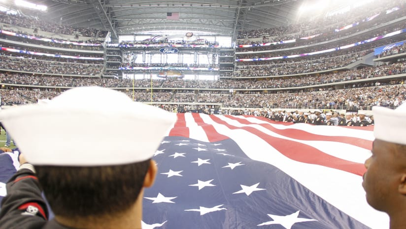 pretty nice 2355c d24f3 Cowboys Honor Military And Veterans With Annual 'Salute To ...