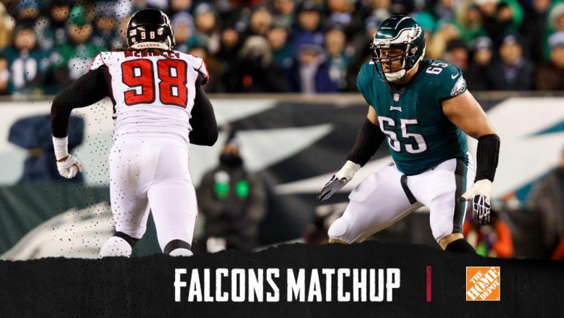 Falcons-Eagles key matchups  Takk McKinley 9d1fbdff6