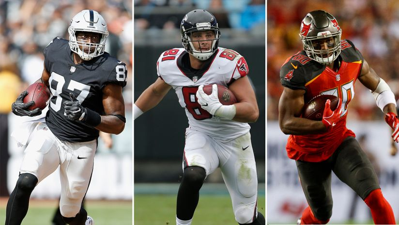 97b7f9e5488 Ranking the NFC South's tight end groups: Jared Cook joins talented bunch  of playmakers
